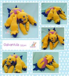 Galvantula pokemon plushie by chocoloverx3