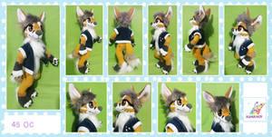 Fox linx oc plushie