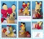 Tiny custom Pikachu Plush