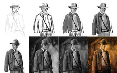 Indiana Jones making of