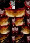 Vincent Valentine from FF7 Making-of