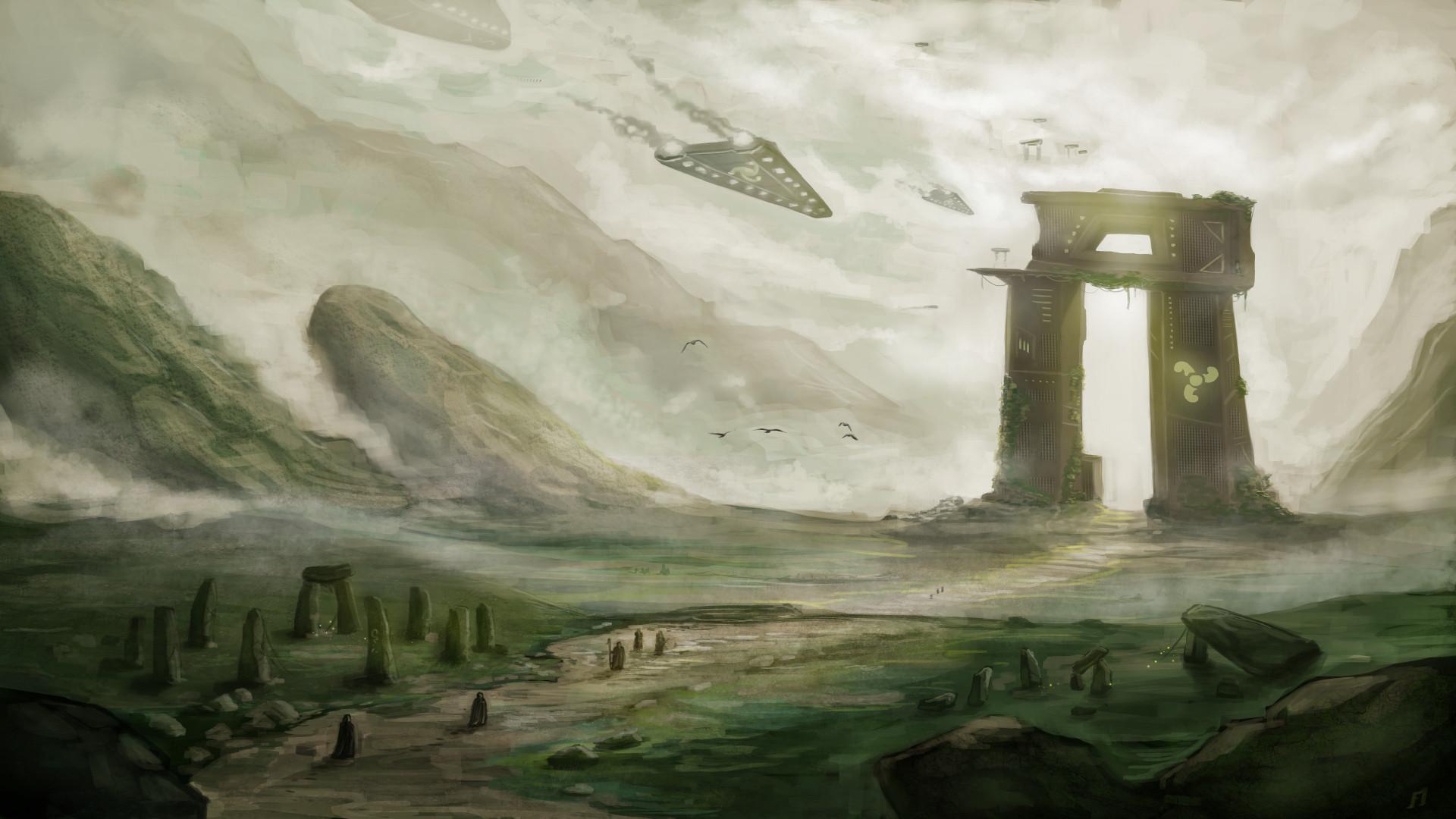 Celtic Sci-Fi by Matou31
