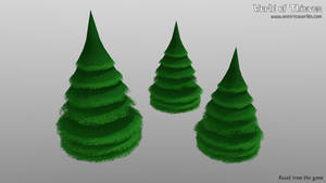 F for Fir Tree - Blender Month