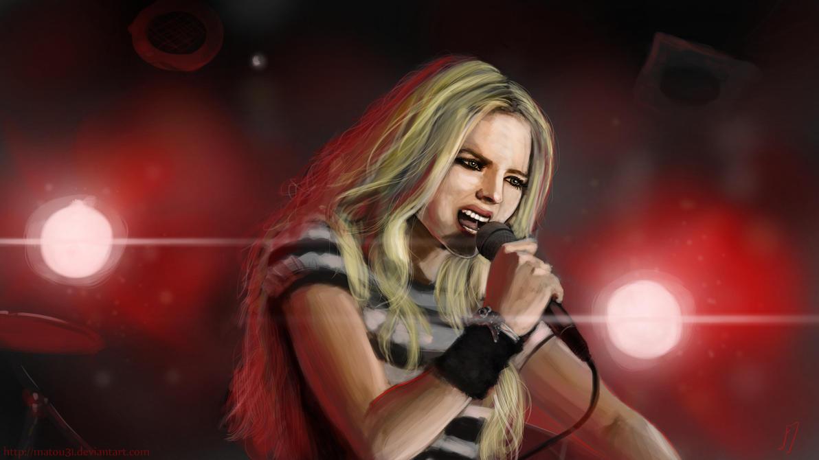 Avril Lavigne by Matou31
