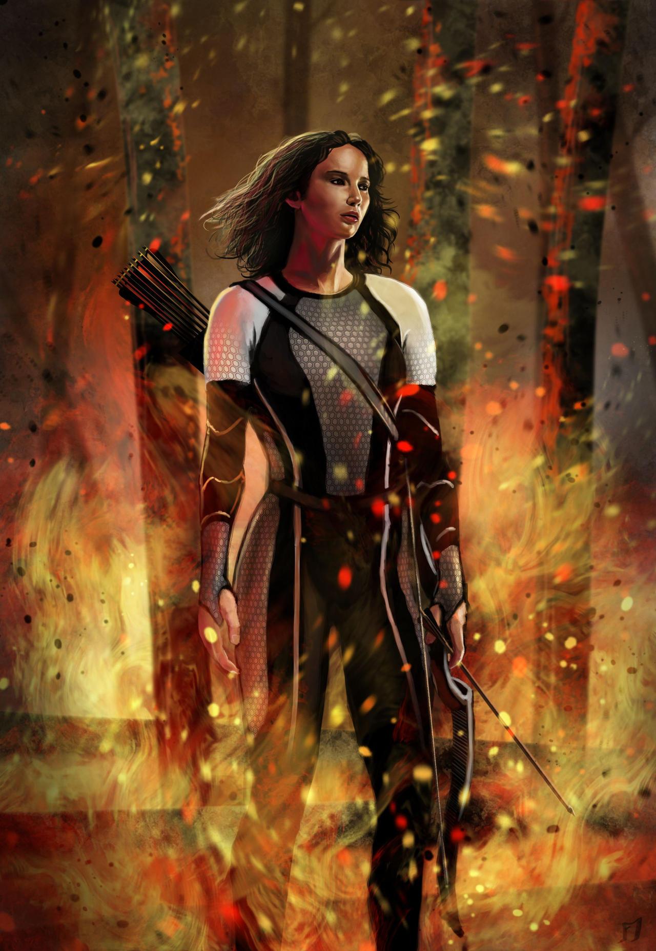 Katniss Everdeen - The Best Moments - YouTube