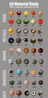 50 Material Study Challenge