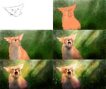 Fox Speedpainting - Making-of