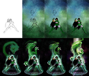 Shiryu, the Dragon Saint - Making-of
