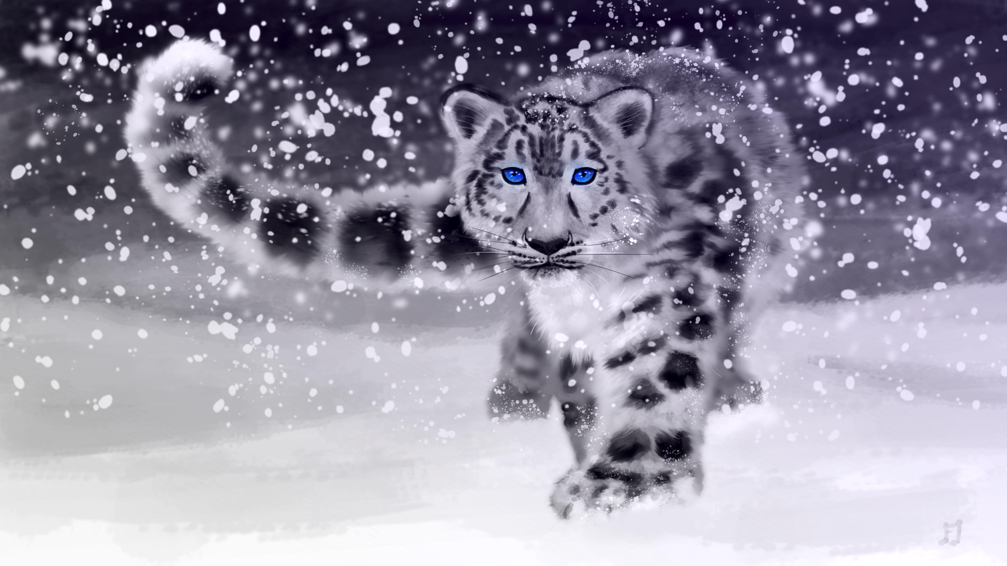 Snow Leopard by Matou31
