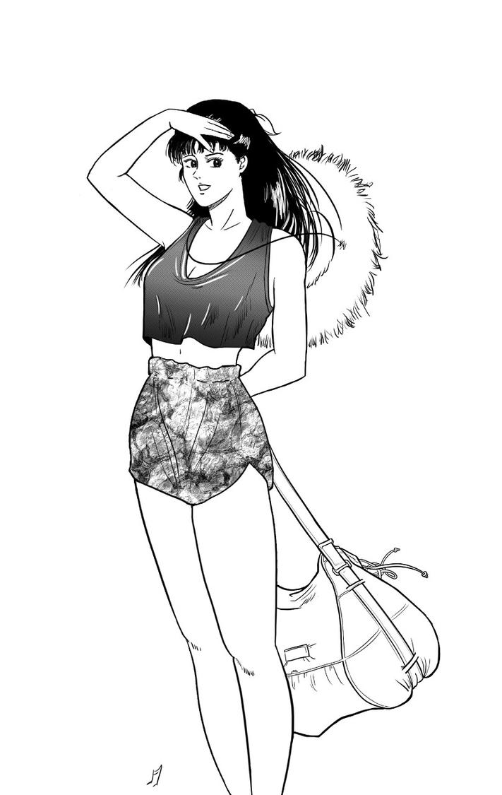 Another City Hunter Study by Matou31
