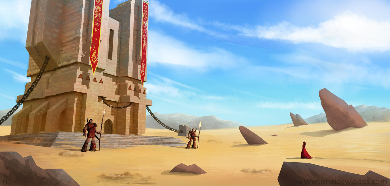 Sand Tower by Matou31