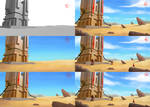 Sand Tower - Making-of