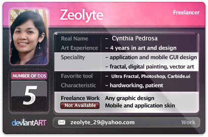 new ID by zeolyte