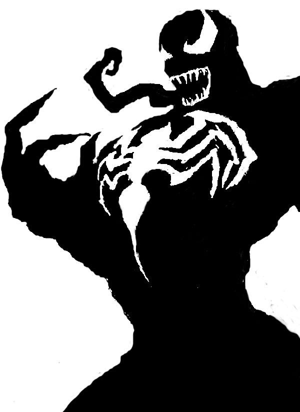 Venom Stencil By Madeofmatches On Deviantart