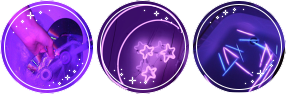 Aesthetic Purple Divider Circle by Trianglecat901fluf