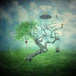 pequliar tree
