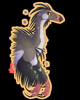 Flower Beipiaosaurus