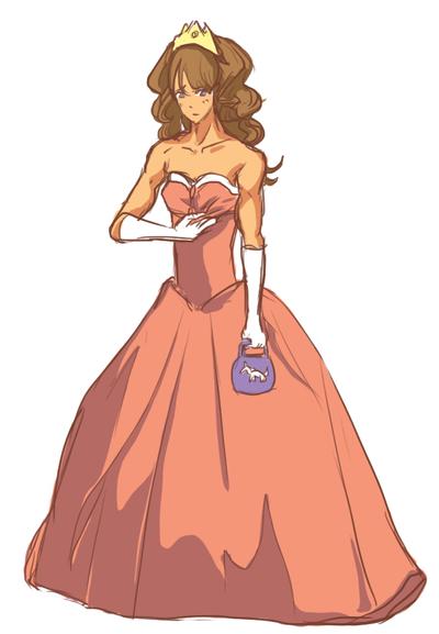Princess Dress by fishy-kun