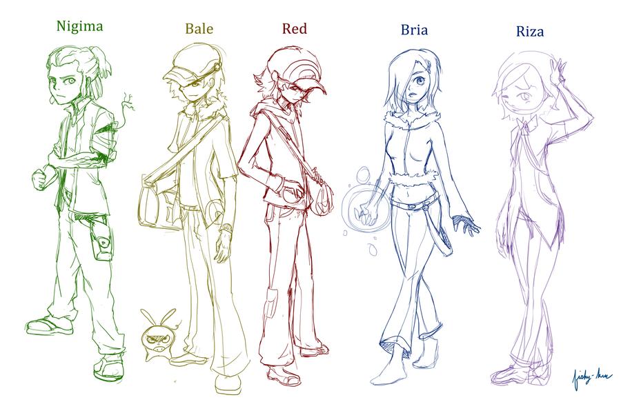 deviantart character sketches - photo #21