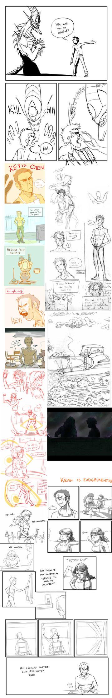Kevin Sketchdump 2 by fishy-kun