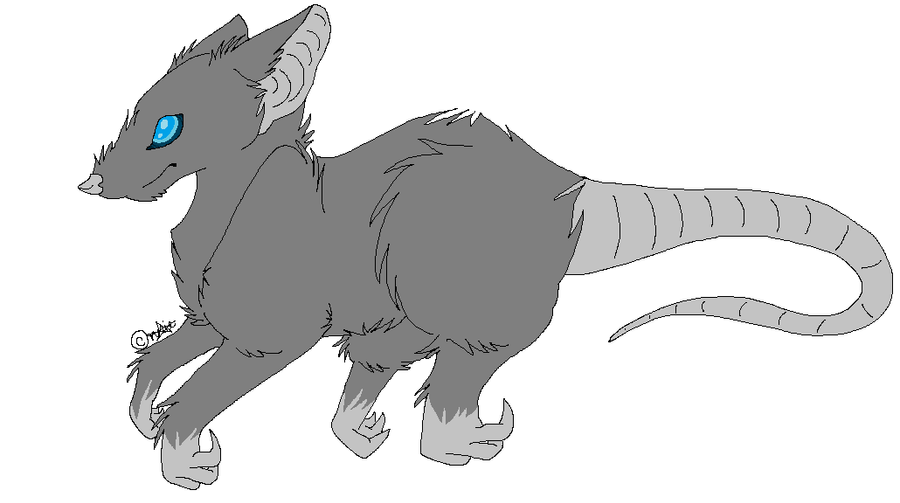 Line Drawing Rat : Rat line art free by annietz on deviantart