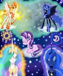 A Royal Problem S7 Ep10 - Celestia and Luna