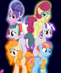 MLP Mothers of Mane 6 by liniitadash23