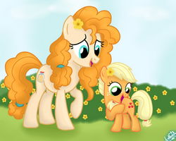 The Perfect Pear S7 Ep13-Pear Butter and Applejack by liniitadash23