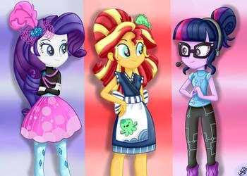 MLP:EquestriaGirls Specials-Rarity-Sunset-Twilight by liniitadash23