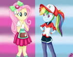 MLP:EquestriaGirls Specials-Rainbow and Fluttershy
