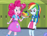 Secrets and Pies S7 Ep 23 - Rainbow and Pinkie