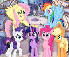 MLP The Movie - Mane 6 by liniitadash23