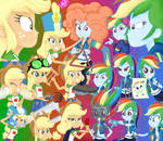 MLP - Equestria Girls - Queen of Clubs
