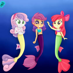 Surf and/or Turf S8 Ep 6 - Cutie Mark Cruaders by liniitadash23
