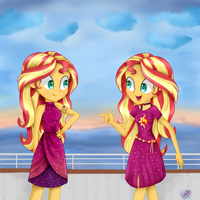 Sunset Shimmer - Spring Breakdown