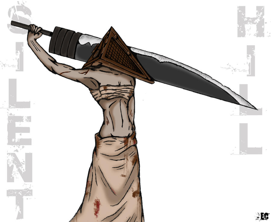 Female Pyramid Head by EC-DarkMatter
