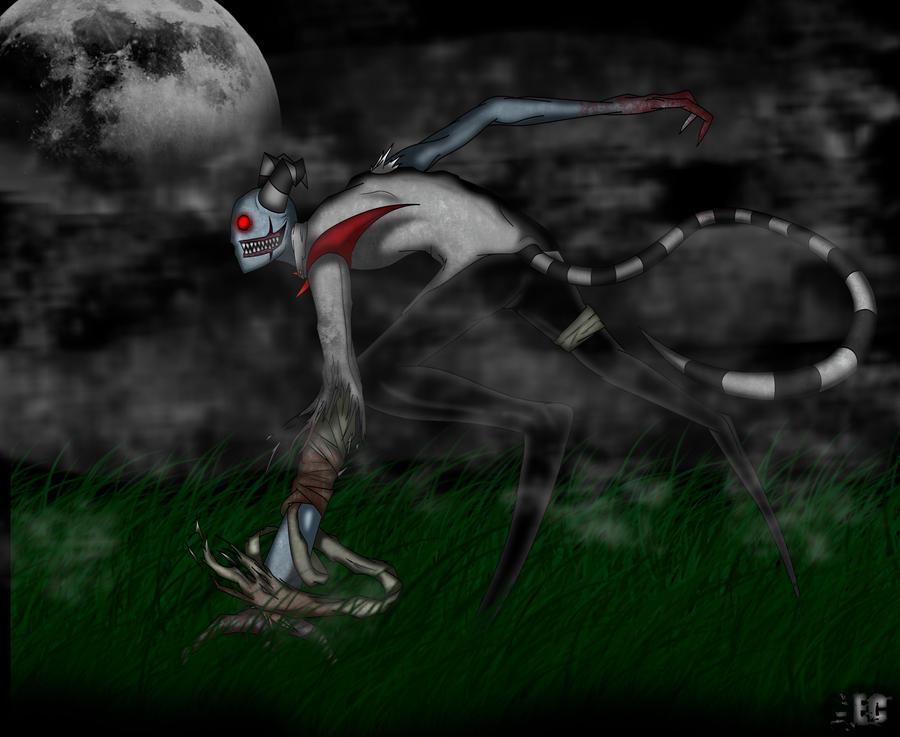 CE: Monster of the Night by EC-DarkMatter