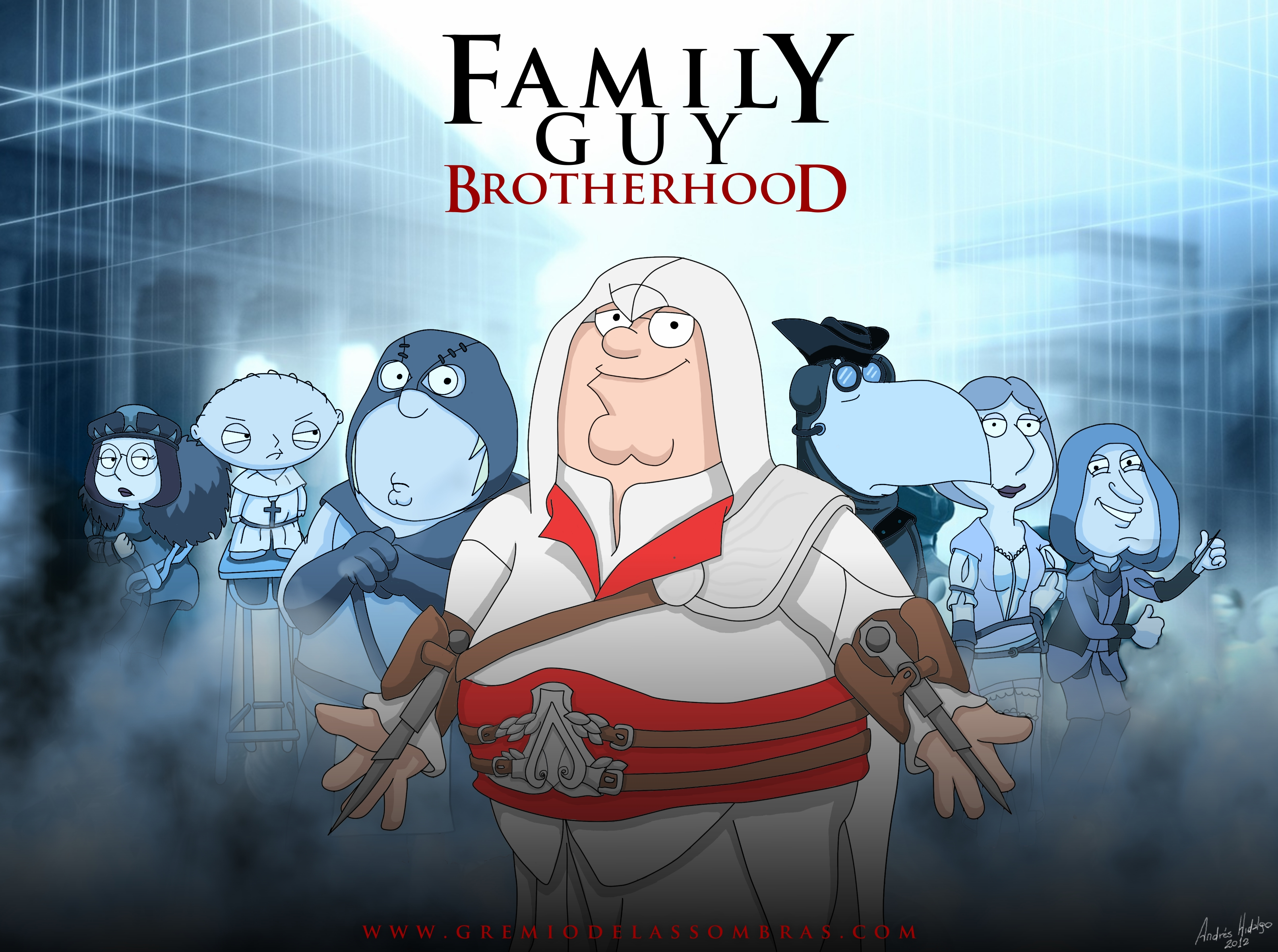 Family Guy Brotherhood by satanic-soldier