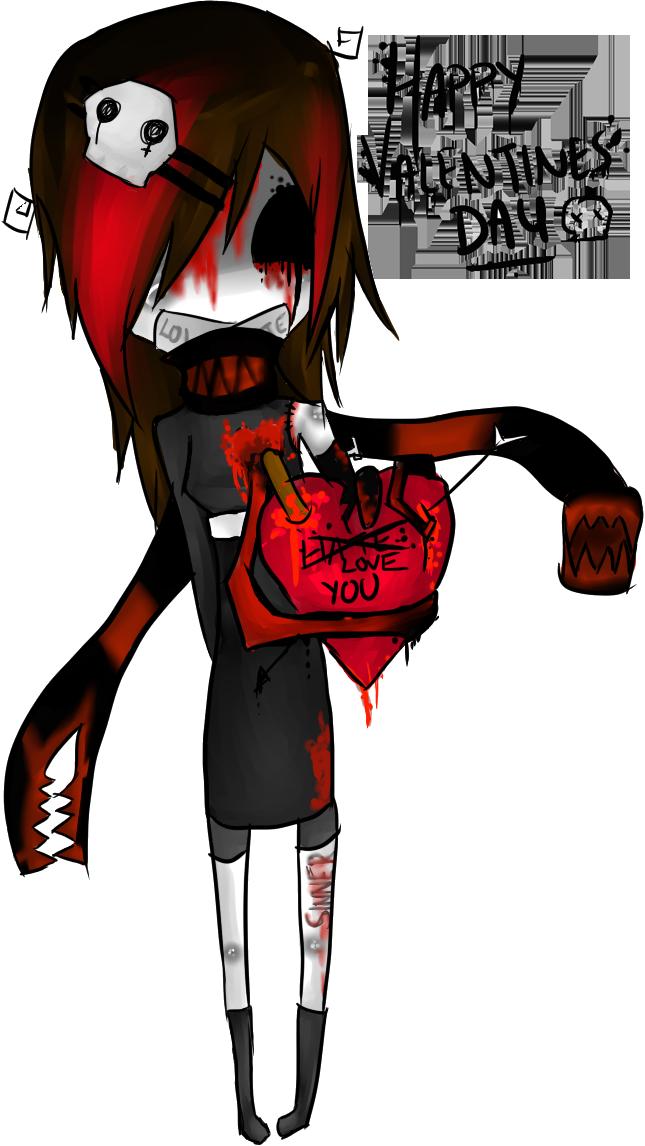 Tortured  Valentine by M0N1