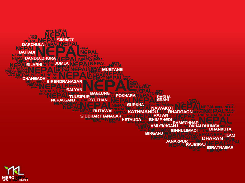 TYPOGRAPHY  NEPAL - YKL by ykl