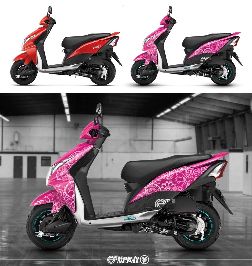 Honda dio e3 concept 2013 by ykl