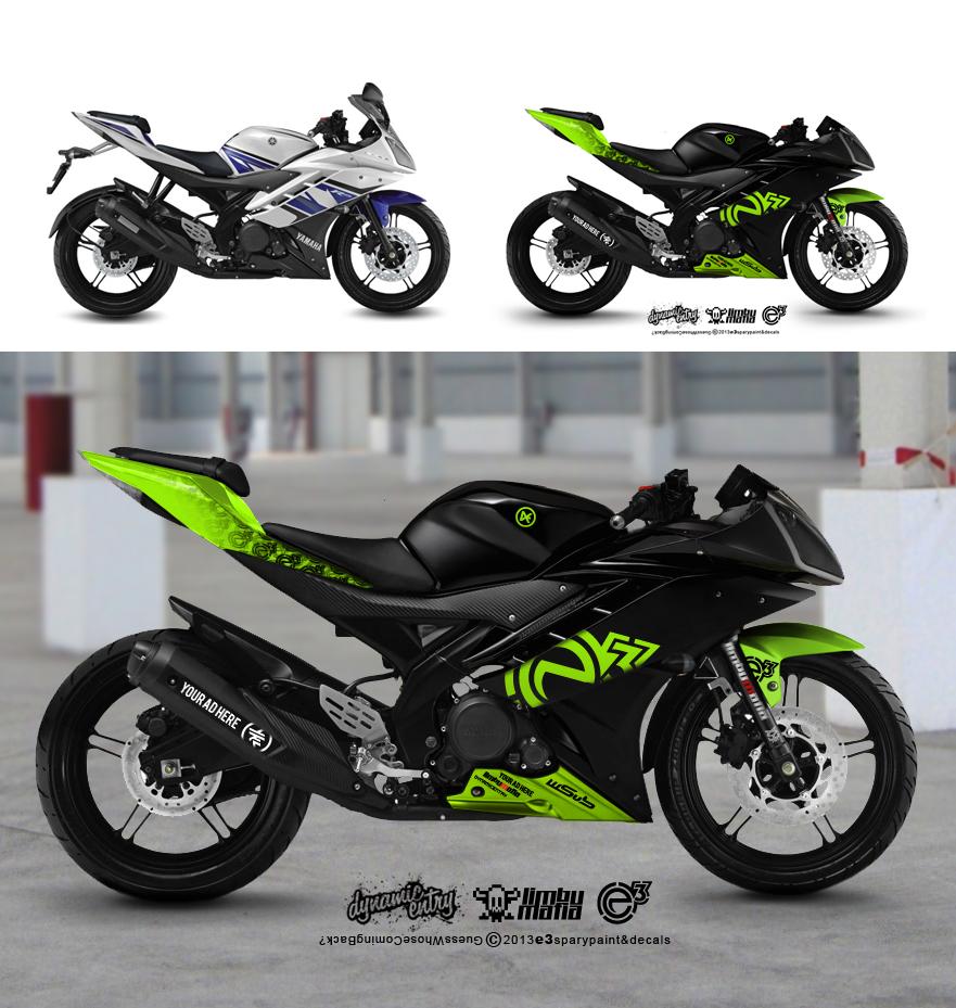 R15 Bike Wallpaper: E3 Spraypaint Concept 2013 By Ykl On