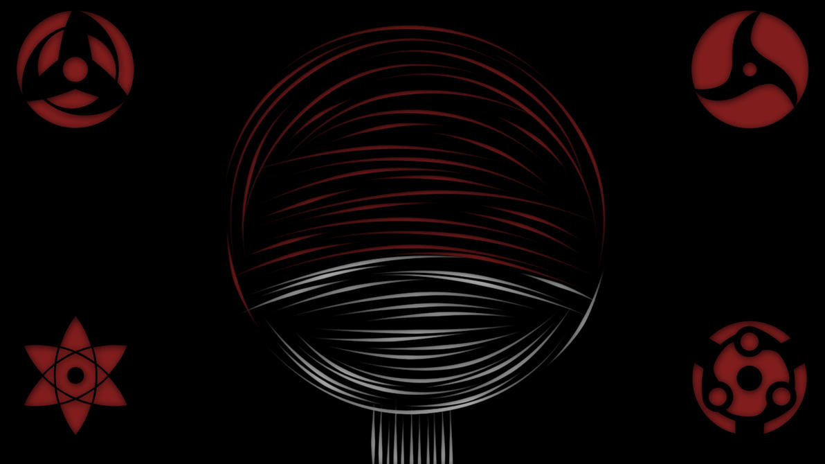 Uchiha - Divided We Fall by  Uchiha Clan Symbol Wallpaper