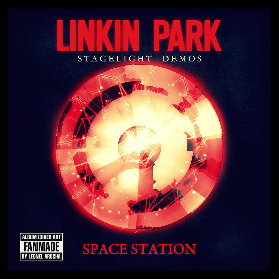 Space Station / Linkin Park (Red Version) by LeonelNikolaz