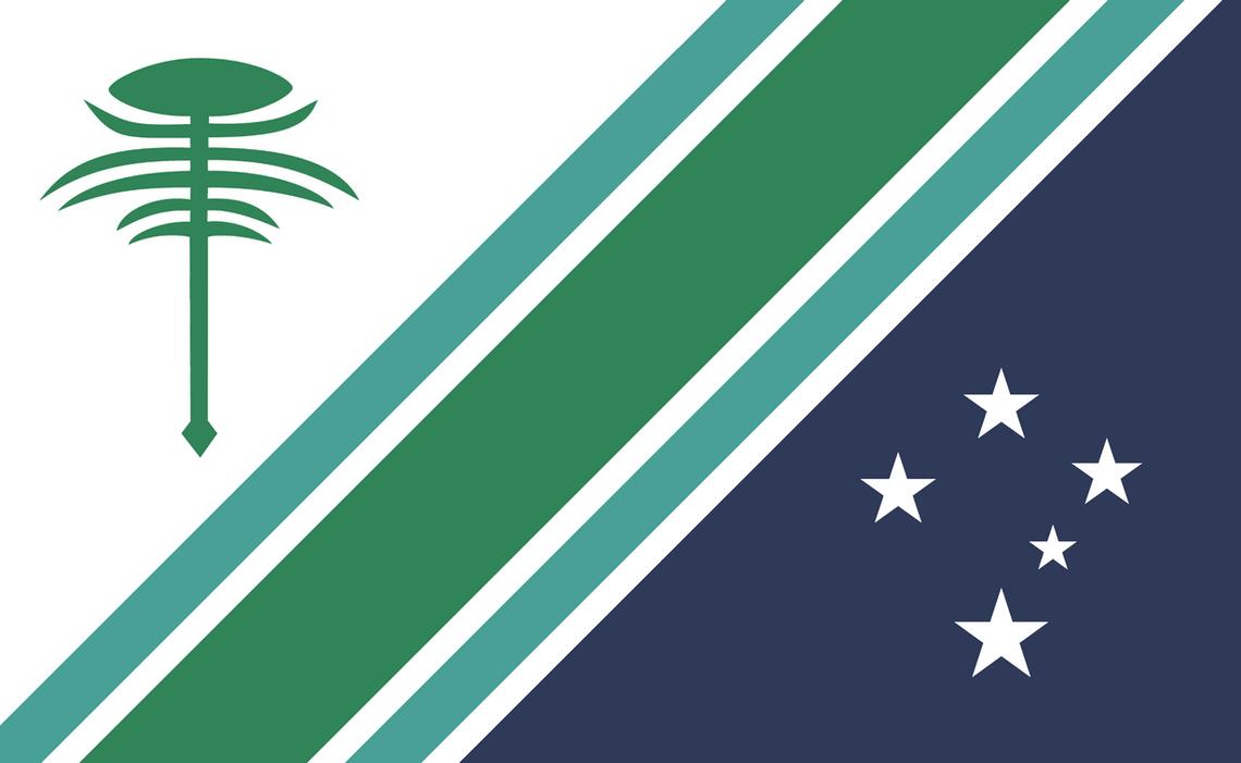 Bandera de la Provincia de Neuquen / Redisenho by LeonelNikolaz