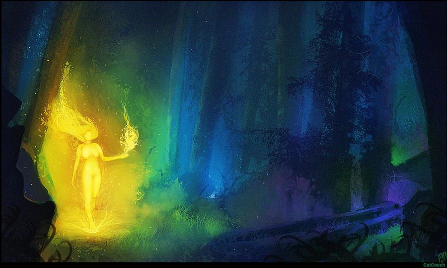 Fire Forest Spirit