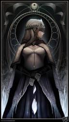 Dark Souls III - Fire Keeper by CatCouch