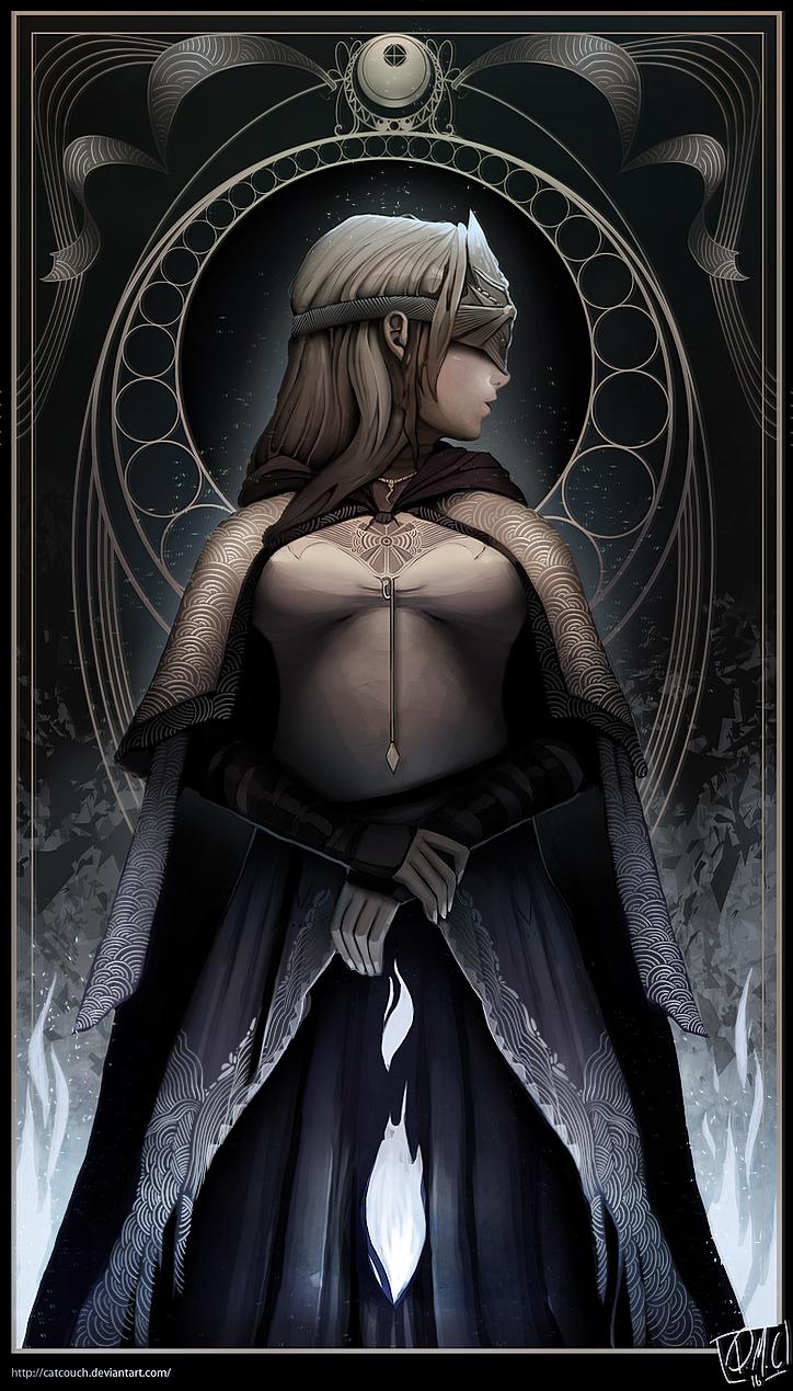 Dark Souls Iii Fire Keeper By Catcouch On Deviantart