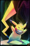 Headbanging Pikachu!