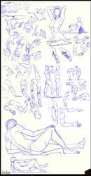 Studies Nov. '16 by CatCouch